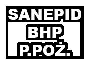 Zatwierdzanie SANEPID BHP P.POŻ Kraków.